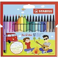 STABILO Pen 68 Mini 18 pcs cardboard case