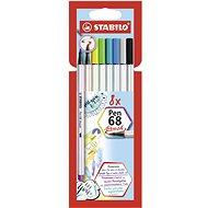STABILO Pen 68 Brush 8 pcs Case