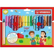 STABILO Cappi 18 pcs Case - Felt Tip Pens