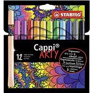 "STABILO Cappi 12 pcs Case ""ARTY"""