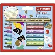 STABILO Trio Deco 8 pcs Case - Felt Tip Pens