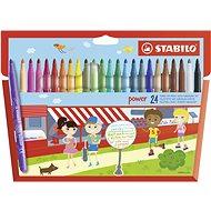 STABILO Power 24 pcs Case - Felt Tip Pens