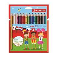STABILO Color 24 Stück in der Pappverpackung - Bundstifte