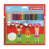 STABILO Color 30 Stück in der Pappverpackung - Bundstifte