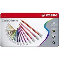 STABILO CarbOthello 36 Stück in der Metalldose - Bundstifte