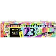 STABILO BOSS ORIGINAL 23 Stück Schreibtischset - Textmarker
