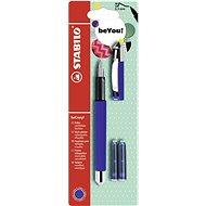 STABILO beCrazy! Fountain Pen Uni Colors, blue + 2 Refills - Fountain pen