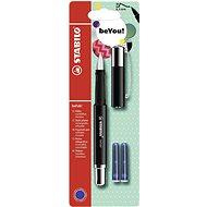 STABILO beFab! Fountain Pen Uni Colours, Black + 2 Refills - Fountain Pen