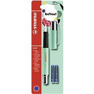 STABILO beFab! Fountain Pen Uni Colours, Menthol Green + 2 Refills - Fountain pen