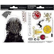 ABYstyle - Games of Thrones - Aufkleber - 16 cm x 11 cm / 2 Bögen - Stark / Sigils - Kreativset