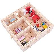 Holzbausatz Buko - großes Haus 298 Teile - Holzbausatz