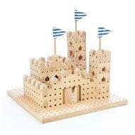 Holzbausatz Buko - Kleine Burg 295 Teile - Holzbausatz