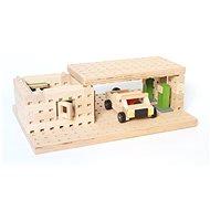 Holzbausatz Buko - Spielzeugauto 99 Teile - Holzbausatz