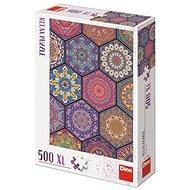 Dino Mandala 500 xl Puzzle zur Entspannung - Puzzle