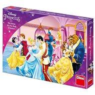 Tischspiel Dino-Prinzessinnen mit Ball - Kinderspiel - Stolní hra