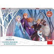 Dino Kinderspiel - Ludo Die Eiskönigin II / Frozen II