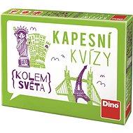 Dino Pocketquiz - Auf der ganzen Welt - Wissensspiel