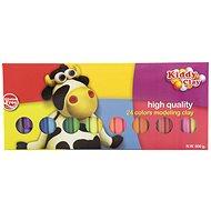 Teddies Modelliermasse / Knetmasse NARA 500 g - 24 Stück - Kreatives Spielzeug