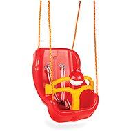 Große Schaukel mit roter Sitzfläche - Schaukel