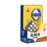 Zauberwürfel-Set Retro 3X3 + Twist - Geduldspiel