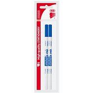 ICO Tintennachfüllstifte 2in1 - 2er-Pack - Tintenlöschstift