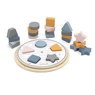 PolarB Holzspielzeug - Passende Form und Farbe - Holzwürfel