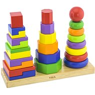 Holz Pyramide 3in1 - Holzspielzeug