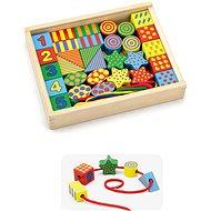 Holz Einfädeln - Holzspielzeug