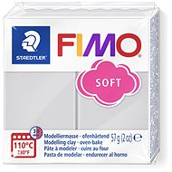FIMO soft 8020 56g grau - Knetmasse