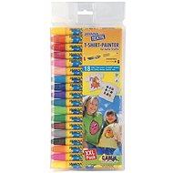 """KREUL - JAVANA """"Texi Max Medium Sunny"""" Textile Marker Set, 2-4mm 18 pcs - Felt Tip Pens"""