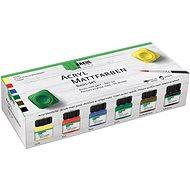 KREUL Acrylfarben-Set matt 6 x 20 ml - Set