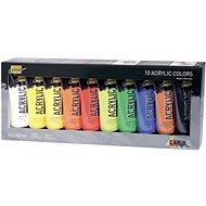 "KREUL ""SOLO GOYA"" Acrylfarben-Set, 10 Farben, 100 ml in der Tube - Set"