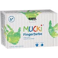 "KREUL ""MUCKI"" Fingermalset, 6 Farben - Set"