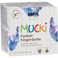 "KREUL ""MUCKI"" Fingermalset, 4 Farben - Set"