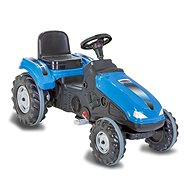 Jamara Big Wheel Trettrecker - blau - Trettraktor