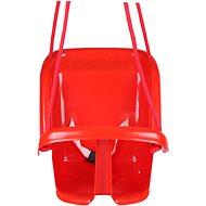 Teddies Babyschaukel - rot - Tragkraft: 20 kg - Schaukel