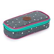 Karton P+P - Etui etue komfort Oxy Scooler Grey dots - Federmäppchen