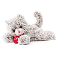 Lumpin Plüschtier Katze Chichi hellgrau - 20 cm - Stoffspielzeug