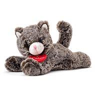 Lumpin Plüschtier Katze Chicky dunkelgrau - 20 cm - Stoffspielzeug