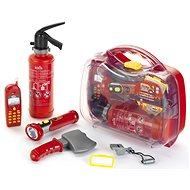 Feuerwehrkoffer, 6 Zubehörteile - Schutzhelm