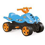 Tretauto Hot Wheels Quad - blau - Tretvierrad