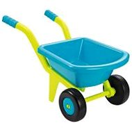 Kinderschubkarre Ecoiffier Schubkarre für Kinder mit 2 Rädern - gelb/blau