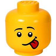 LEGO Aufbewahrungsbox Storage Head Silly - klein - Aufbewahrungsbox