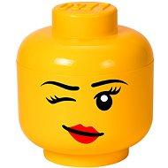 LEGO Aufbewahrungskopf Whinky - Klein - Aufbewahrungsbox