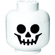 LEGO Skelettkopf - klein - Aufbewahrungsbox