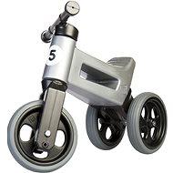 FUNNY WHEELS Rider Sport Laufrad grau 2in1 - Laufrad/Bobby Car
