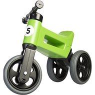 FUNNY WHEELS Rider Sport Laufrad grün 2in1 - Laufrad/Bobby Car