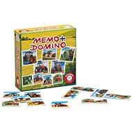 Memoryspiel Pexeso&Domino-Traktoren - Pexeso