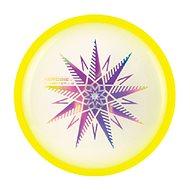 Outdoor-Spiel Aierobie Fliegende Scheibe leuchtender Skylighter gelb