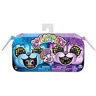 Zoomer Tiere mit Lutscher Dopplepack - blau-violett - Interaktives Spielzeug